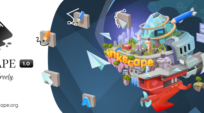 Ya disponible Inkscape 1.0